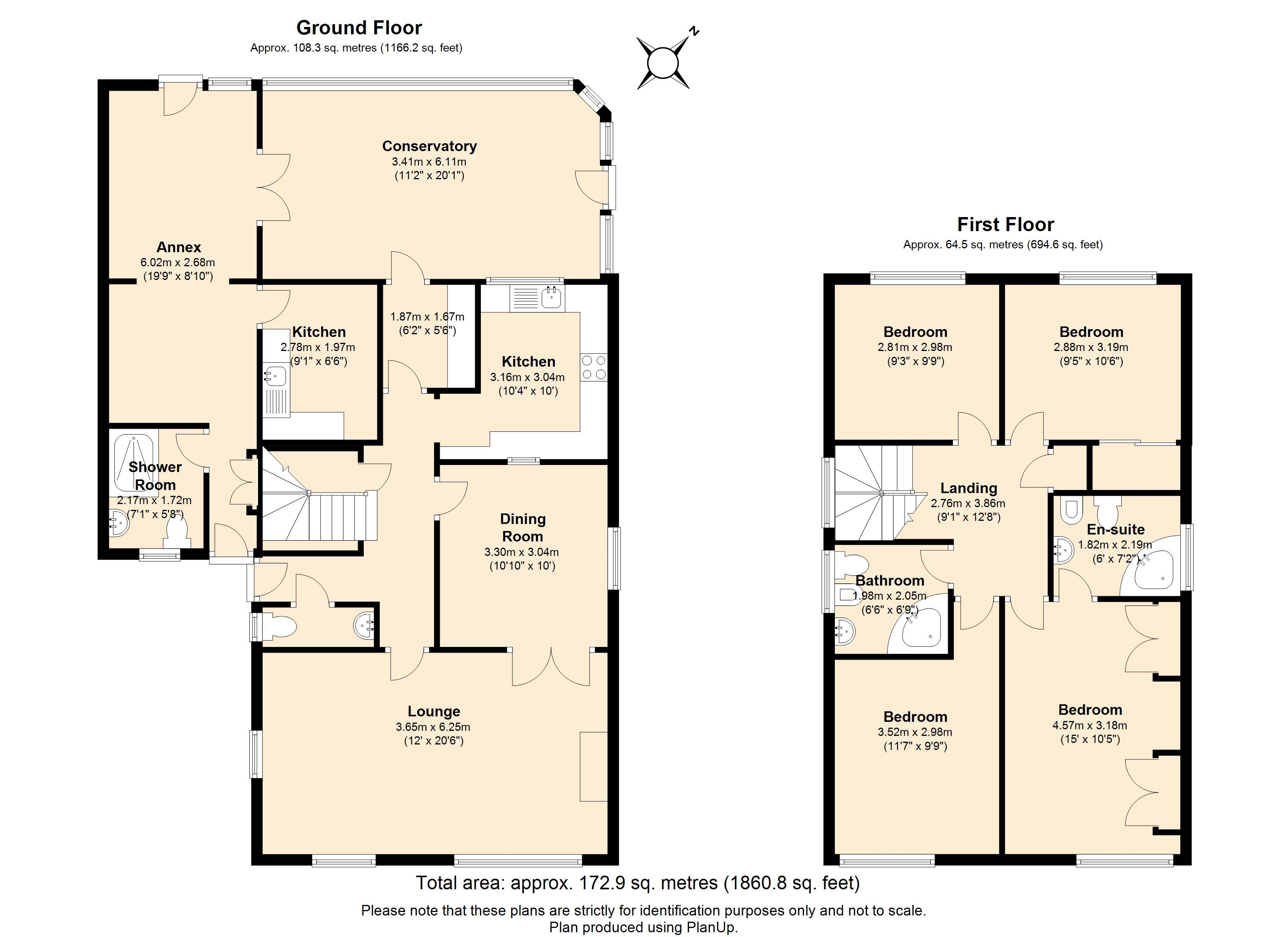 Floorplans For Bridgeman Drive, Windsor