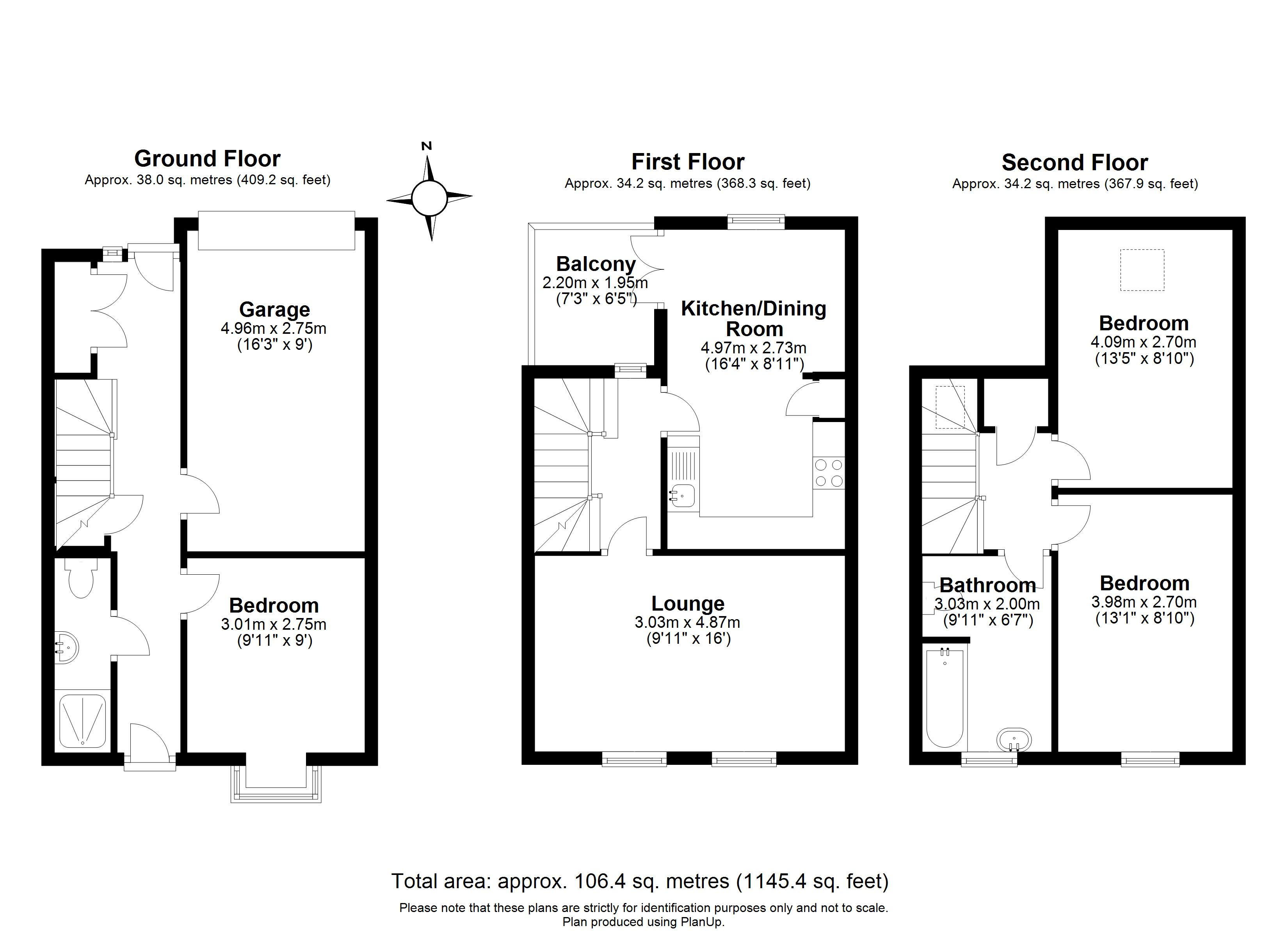 Floorplans For Bakehouse Court, Long Hill Road, Ascot