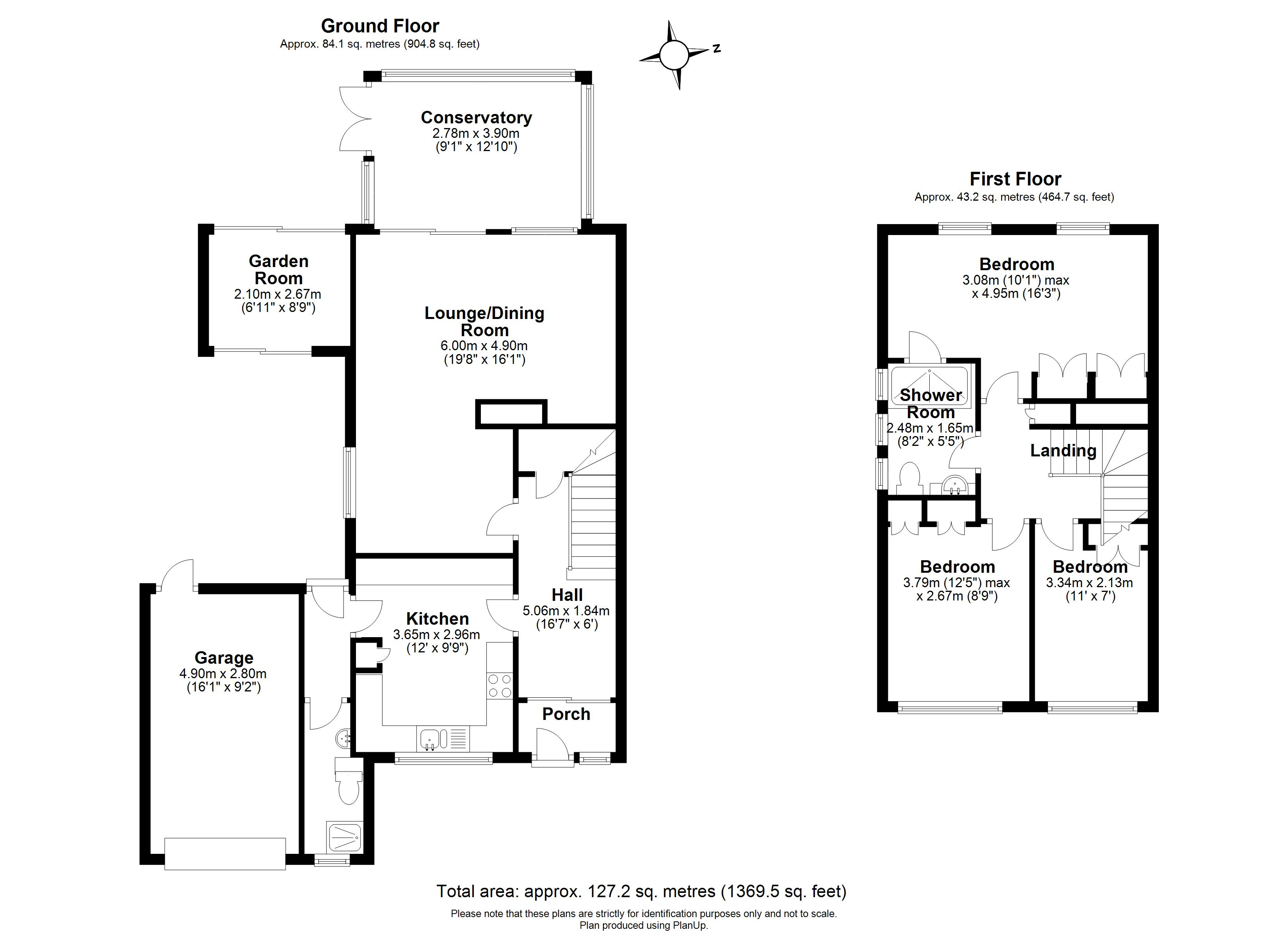Floorplans For Redford Road, Windsor