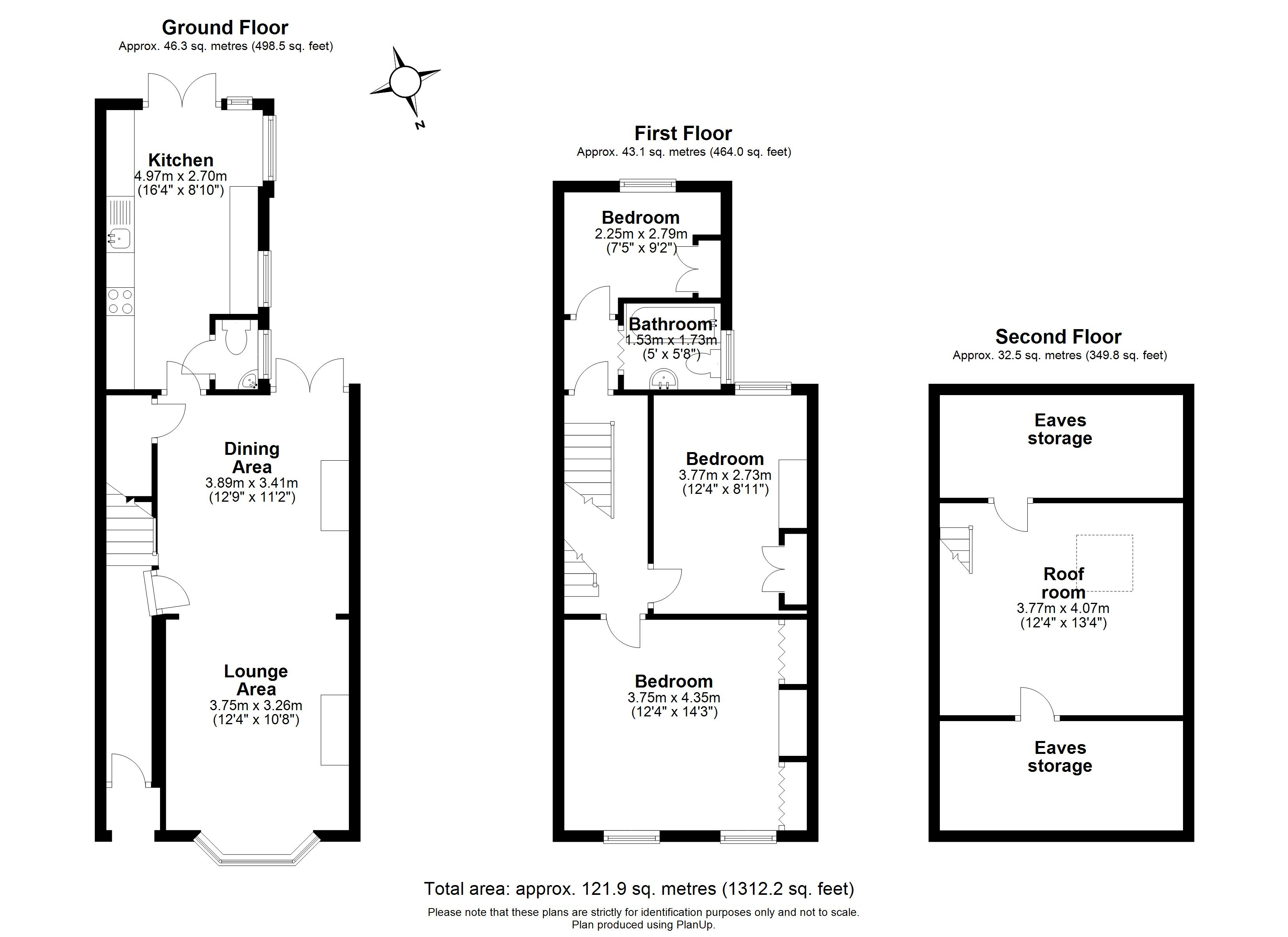 Floorplans For Springfield Road, Windsor
