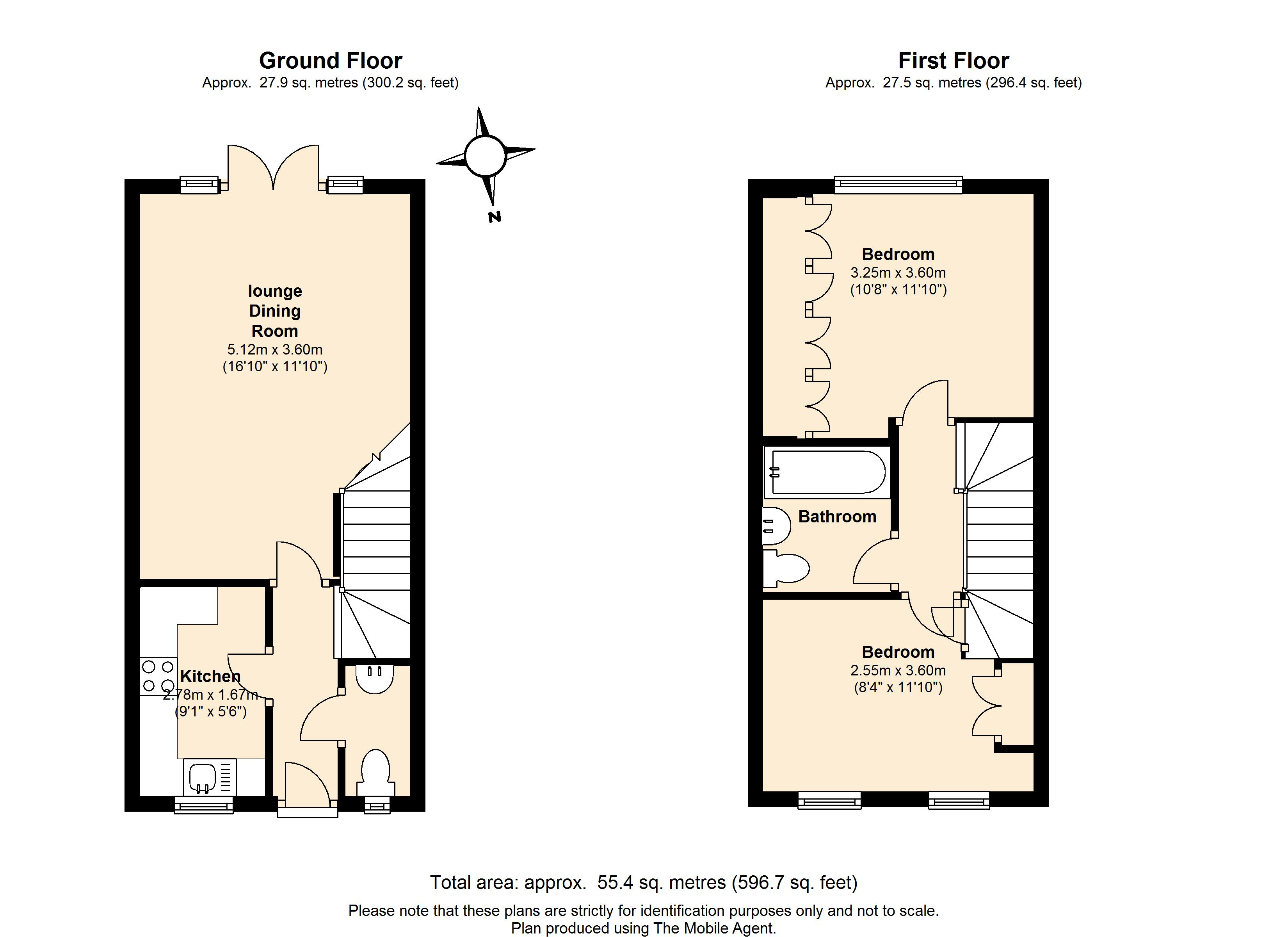 Floorplans For Selwyn Close, Windsor