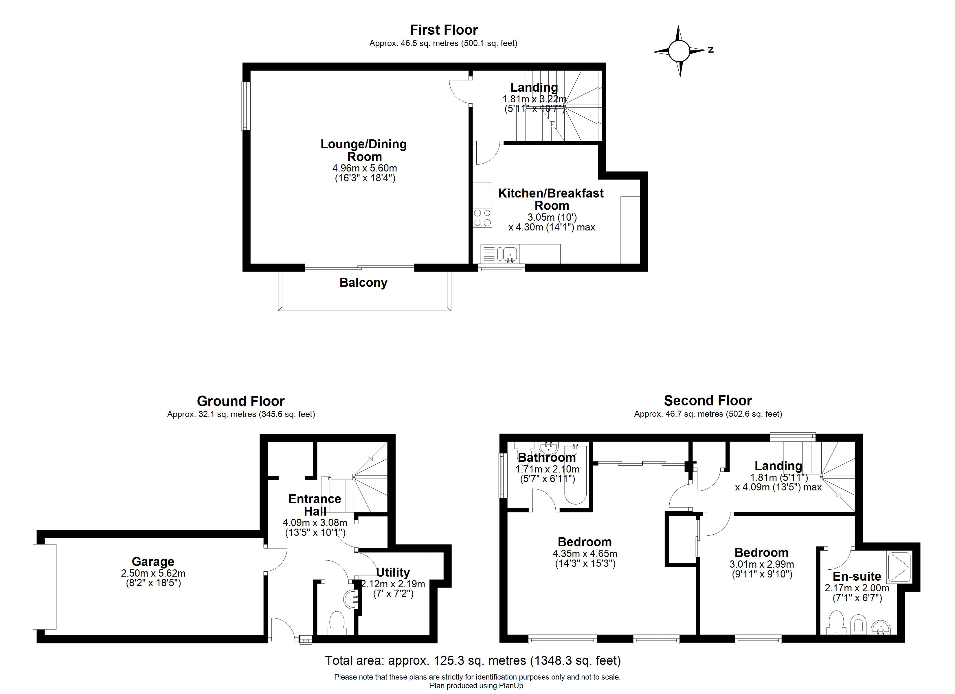Floorplans For Chantry Place, King Stable Street, Eton, Windsor