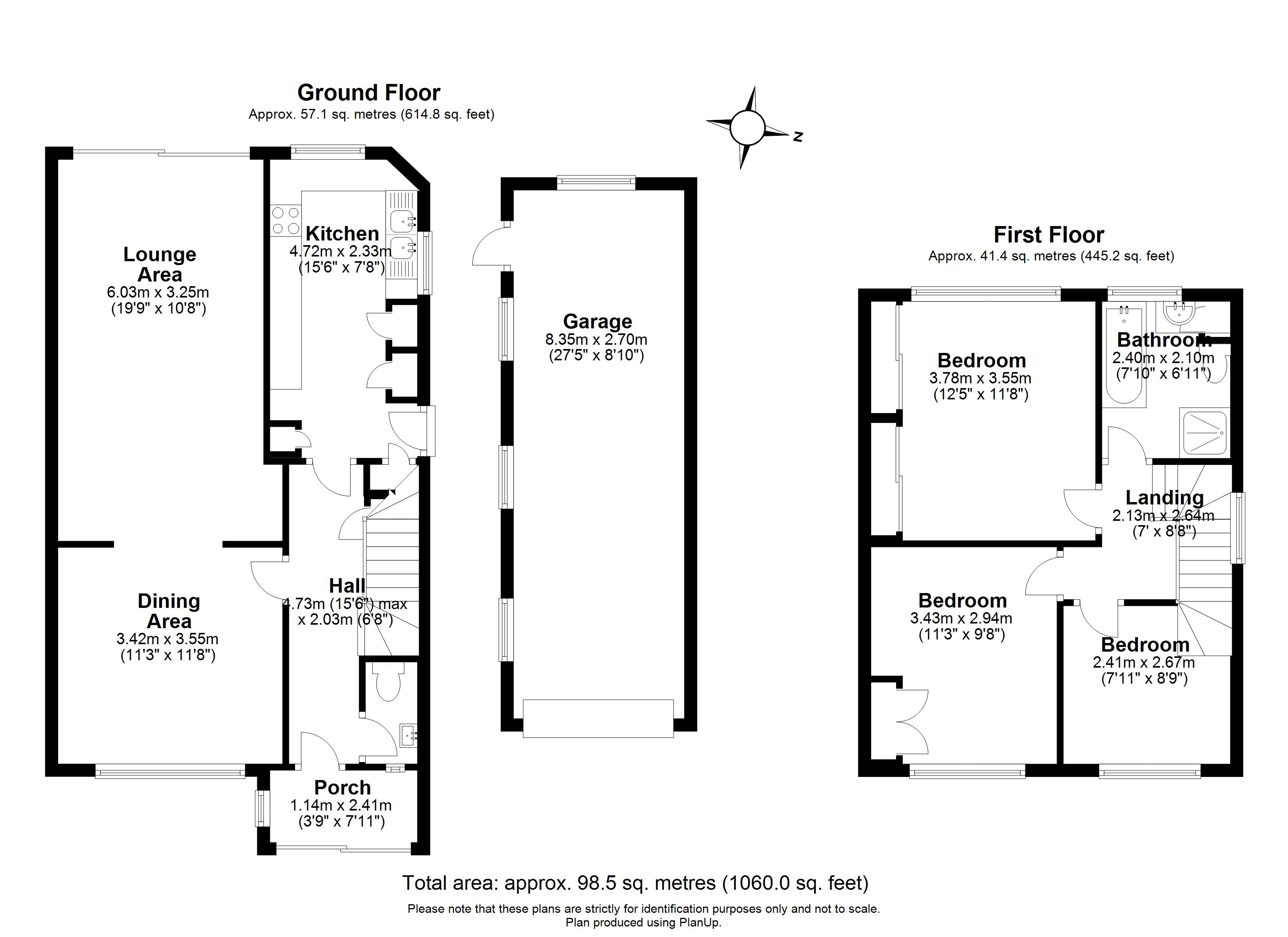 Floorplans For Ashbrook Road, Old Windsor, Windsor