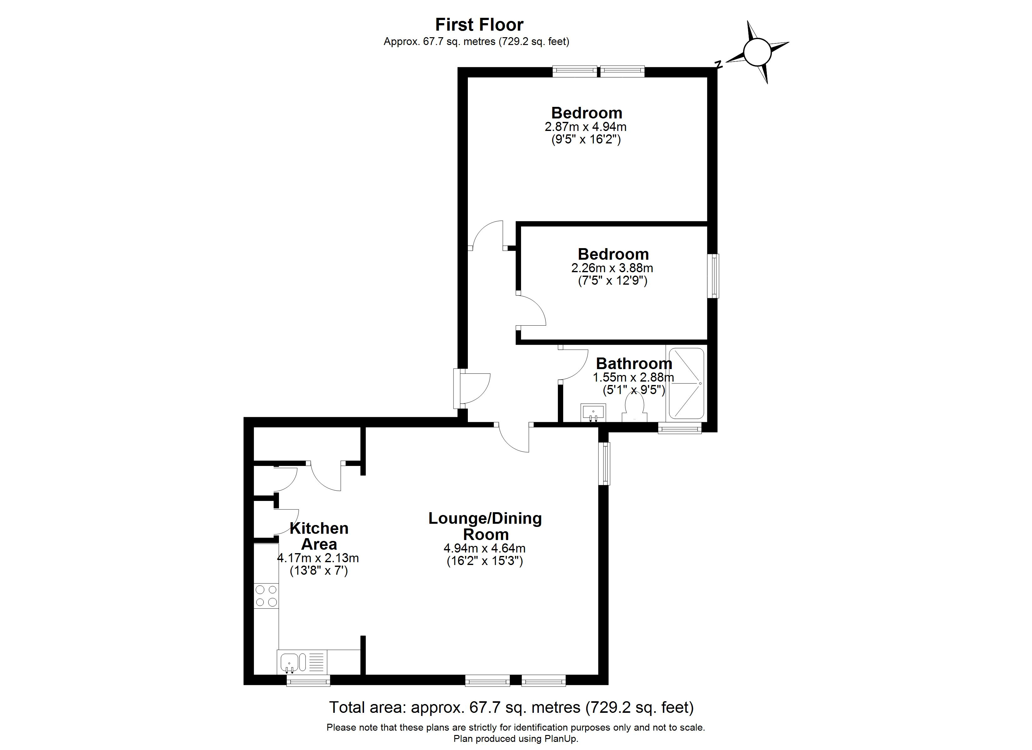 Floorplans For Chelmsford Court, Alma Road, Windsor